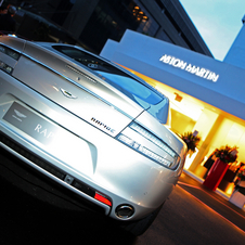 Aston Martin has over 40 dealers in the Americas