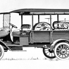 Chevrolet Model T One-Ton Commercial Truck