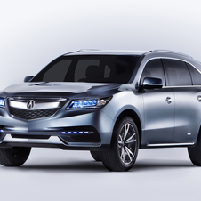 The latest MDX will debut at the New York Auto Show