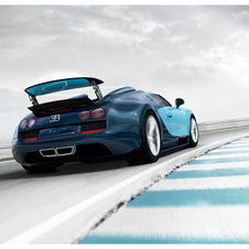 The company says that it will not add another model until Veyron production is over