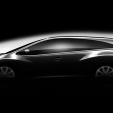 Honda released a sketch of the Civic Wagon