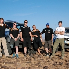 The team has been preparing all year to go to Dakar in January