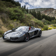 McLaren's lineup is currently two models based on the 12C - Coupe and Convertible