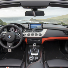There is a new package that adds orange trim to the interior