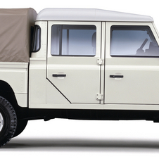 Land Rover 130 Defender Chassis/Cabine E