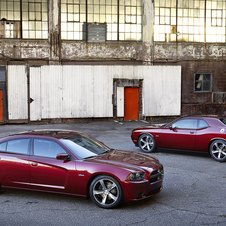 The cars celebrate the 100 years of Dodge