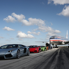 Lamborghini got permission from the FAA and the Miami International Airport to make the top speed run