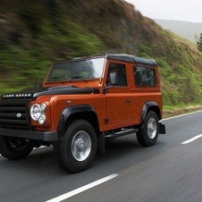 Land Rover 90 Defender Soft Top E