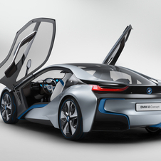 BMW i8 Entering Production in 2014