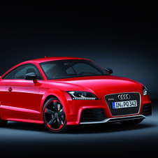 The next TT RS will include more carbon fiber and less weight