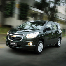 The compact MPV Spin comes from South East Asia
