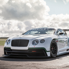 A Bentley tenciona estrear o Bentley Continental GT3 em pista no final de 2013