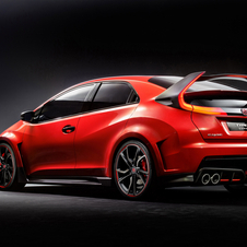Civic Type R vai estar equipado com os novos motores VTEC Turbo da série de tecnologia Earth Dreams