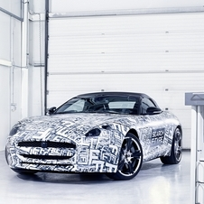 The F-Type will sit below the XKR with Jaguar's new turbocharged V6