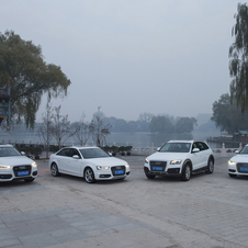 Audi now builds several models in China