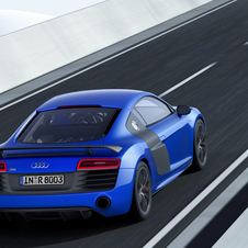 Audi has succeeded to increase 20hp compared to the R8 V10 Plus, for a total of 570hp