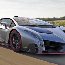 The Veneno is limited to three cars that are already sold