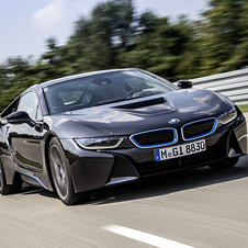 The i8 is reaching the market in the spring