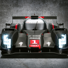 The Audi R18 will use laser headlights for their longer light length
