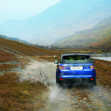 The Range Rover Sport SVR can accelerate from 0 to 100 km/h in just 4.7 seconds and reach a maximum speed of 260 km/h speed