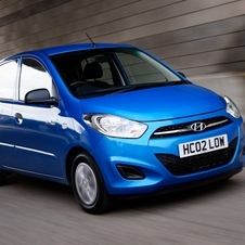 The current i10 has been on sale since 2007