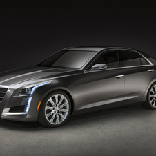 The new CTS shares a platform with the ATS, but the CTS is a much larger car