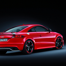 Audi TT RS Plus Gets 20HP Boost and 280km/h Top Speed