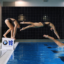 BMW helped film Adlington to improve her stroke