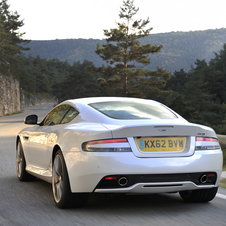 Aston Martin DB9 Morning Frost