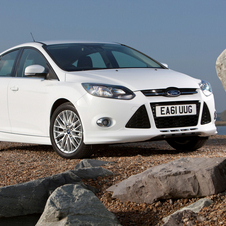 Ford Focus 1.6 Ti-VCT Bi-Fuel Trend Easy