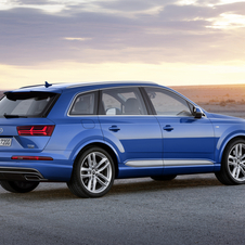 With the new Q7 Audi achieved a significant weight reduction