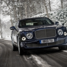 A Bentley planeava ter três protótipo do Mulsanne