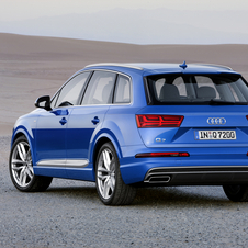 The new Audi Q7 will be offered in Europe with two V6 engines, TDI and TFSI