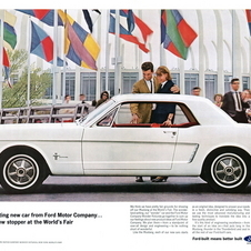 The Mustang was introduced on April 17, 1964, in New York and went on sale the same day