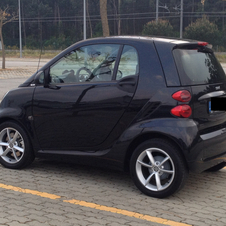 smart fortwo coupé pure mhd