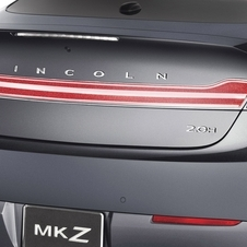 It believes so much in the car that it put 'Lincoln across the rear'