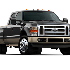 Ford F-Series Super Duty F-250 156-in. WB Lariat Styleside Crew Cab 4x4