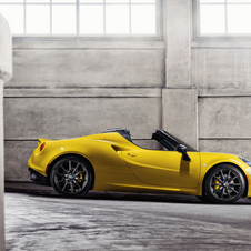 The big difference between the 4C and 4C Spider is the retractable roof, which will initially be in fabric