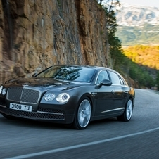 The Flying Spur is Bentley's latest sedan on the Continental platform