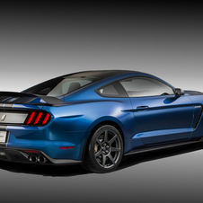 With an output above 500hp Ford created the version following the