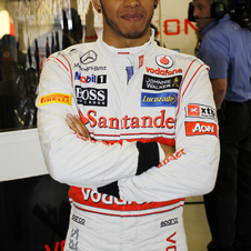 No matter how well Hamilton does, he will get moved back 5 spots on the grid