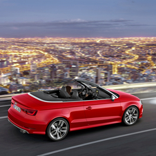 The Audi S3 Cabriolet has an exclusive exterior design which sets it apart from the standard version of the A3 Cabriolet