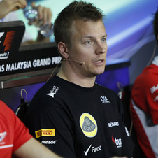 Raikkonen will be trying to win again in Malaysia