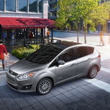 The C-Max will launch in the US later in the year as a small wagon