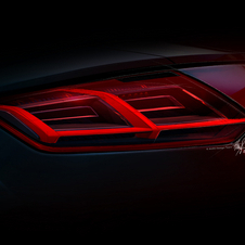 Structured rear lights are part of the new design