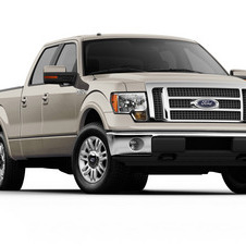 Ford F-Series 145-in. WB Lariat Styleside SuperCab 4x2