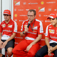 Ferrari says that there will be not problem with two equal drivers on the team