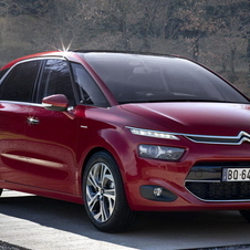 The Citroën C4 Picasso also received a five-star rating