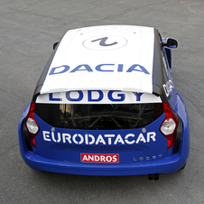 Dacia unveil MPV race car