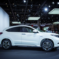 The Vezel is Honda's future compact crossover